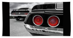 American Muscle Beach Towel
