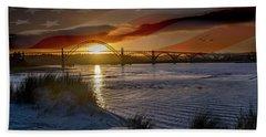 American Skies Beach Towel