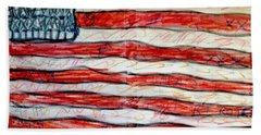American Social Beach Towel by Paulo Guimaraes