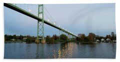 American Span Thousand Islands Bridge Beach Sheet