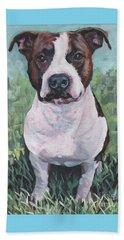 American Staffordshire Terrier Beach Sheet