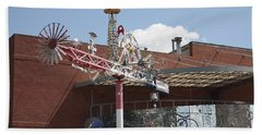 American Visionary Art Museum In Baltimore Beach Towel