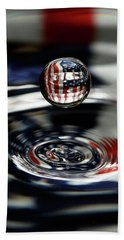 American Water Drop Beach Towel