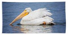 American White Pelican Beach Sheet