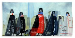 America's Cup New York City Beach Towel