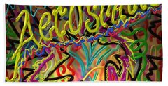 America's Rock Band Beach Towel by Kevin Caudill