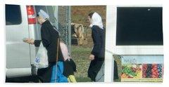 Amish Auction Beach Towel