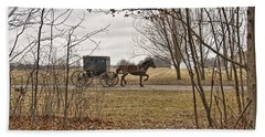 Amish Dreams Redone Beach Towel