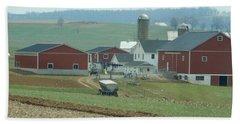 Amish Homestead 6 Beach Towel
