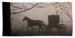 Amish Morning 1 Beach Towel