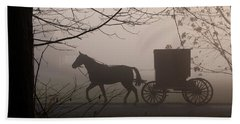 Amish Morning 1 Beach Towel