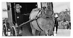 Amish Rig Beach Towel