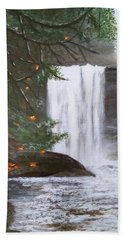 Ammonite Falls Beach Towel