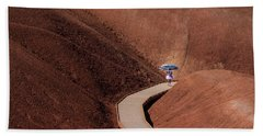 Among The Painted Hills Beach Towel