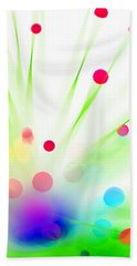 Among The Wildflowers Beach Towel by Dazzle Zazz