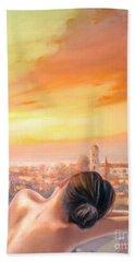Amore Di Firenze Love Of Florence Beach Towel