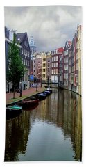 Amsterdam Beach Towel by Heather Applegate