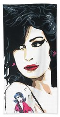 Amy Winehouse Part 2 Beach Towel