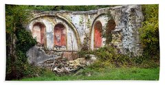 An Abandoned Chapel In France  Beach Towel