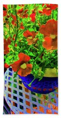 Lots Of Blooms Beach Towel