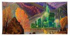 Oz, An American Fairy Tale Beach Sheet
