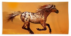 An Appaloosa Called Ginger Beach Sheet