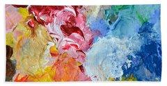 An Artful Blend Beach Sheet