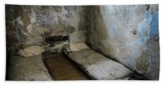 Beach Towel featuring the photograph An Empty Cell In Cork City Gaol by RicardMN Photography