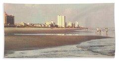An Evening Walking The Grand Strand Beach Sheet