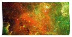 An Extended Stellar Family - North American Nebula Beach Towel