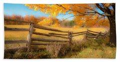 An Ideal Autumn Beach Sheet