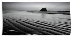 Beach Sheet featuring the photograph An Oregon Morning by Jon Glaser