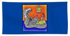 Anantha Sayanam-patta Chitra Style Beach Sheet