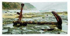 Anchor At Rest Beach Sheet