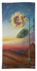 Ancient Energy Beach Towel by Sigrid Tune