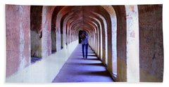 Ancient Gallery At Bada Imambara Beach Towel