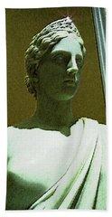 Ancient Goddess Of Badass Beach Towel