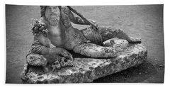 Ancient Greek Statue Beach Sheet