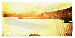 Ancient Marina Beach Sheet by Andrea Barbieri