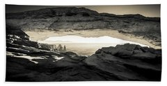 Beach Sheet featuring the photograph Ancient View by Kristal Kraft