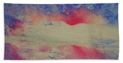 And I Love You So Beach Towel by Jane See