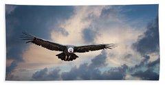 Andean Condor Beach Towel