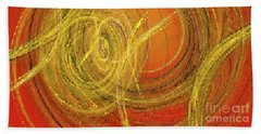 Andee Design Abstract 10 2017 Beach Towel