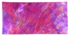Beach Sheet featuring the digital art Andee Design Abstract 15 2017 by Andee Design