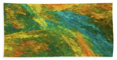 Beach Towel featuring the photograph Andee Design Abstract 16 B 2018 by Andee Design