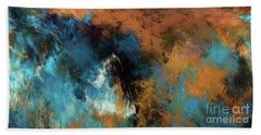 Andee Design Abstract 17 2017 Beach Towel