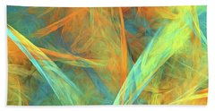 Andee Design Abstract 2 2016  Beach Towel