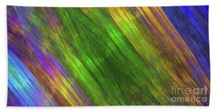 Beach Towel featuring the digital art Andee Design Abstract 20 2018 by Andee Design