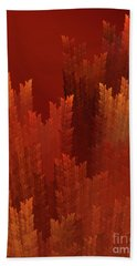 Andee Design Abstract 24 2017 Beach Towel