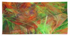 Andee Design Abstract 24 2018 Beach Towel